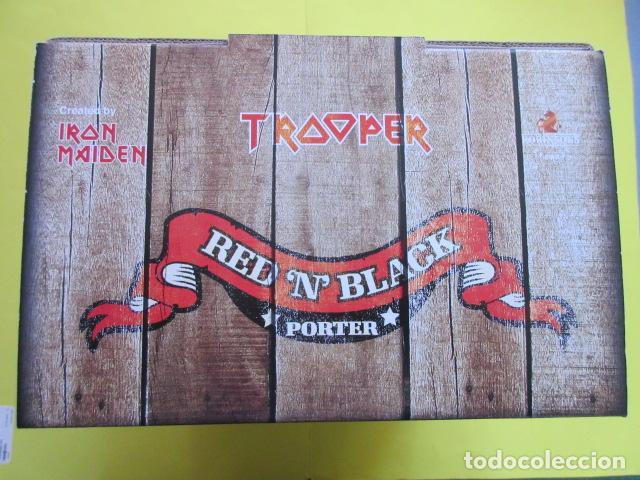 Coleccionismo de cervezas: CAJA COLECCION 6 BOTELLAS 500 CC. IRON MAIDEN EDICION LIMITADA METALLICA ACDC ROCK TROOPER - Foto 5 - 270944683