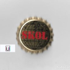 Coleccionismo de cervezas: TAPON CORONA CHAPA BEER BOTTLE CAP KRONKORKEN TAPPI CAPSULE CERVEZA SKOL. Lote 270948488