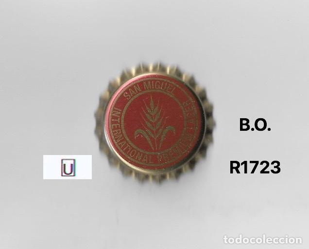 TAPON CORONA CHAPA BEER BOTTLE CAP KRONKORKEN TAPPI CAPSULE CERVEZA SAN MIGUEL (Coleccionismo - Botellas y Bebidas - Cerveza )