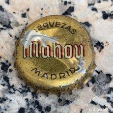 Coleccionismo de cervezas: CHAPA O CORONA ANTIGUA CERVEZAS MAHOU MADRID. Lote 273463843