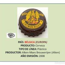 Coleccionismo de cervezas: TAPON CORONA CHAPA BOTTLE CAP KRONKORKEN TAPPI CAPSULA - CERVEZA GRIMBERGEN (BÉLGICA). Lote 295415208