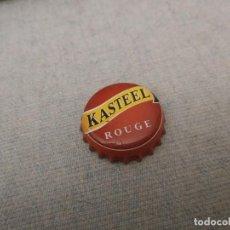 Coleccionismo de cervezas: CHAPA CERVEZA KASTEEL ROUGE 1 (HB). Lote 277299923