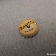 Coleccionismo de cervezas: CHAPA CERVEZA KASTEEL BLOND 1 (HB). Lote 277300008