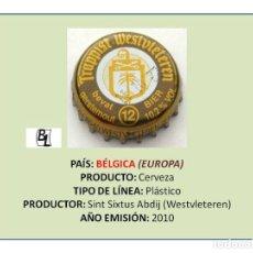 Colecionismo de cervejas: TAPON CORONA CHAPA BOTTLE CAP KRONKORKEN TAPPI CAPSULA - CERVEZA WESTVLETEREN (BÉLGICA). Lote 277726008