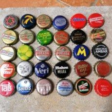 Coleccionismo de cervezas: CHAPAS CERVEZA. Lote 278573088