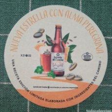Coleccionismo de cervezas: POSAVASOS CERVEZA ESTRELLA GALICIA NOVEDAD. Lote 278884398