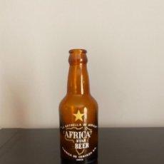 Coleccionismo de cervezas: BOTELLA CERVEZA AFRICA STAR 1/5 ESTRELLA AMARILLA. Lote 278925573