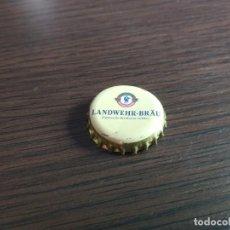Coleccionismo de cervezas: CHAPA CERVEZA LANDWEHR-BRÄU (RRK). Lote 278938348