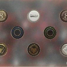 Coleccionismo de cervezas: CHAPA TAPÓN CORONA SURTIDO 10 UNDS. LOTE 08. Lote 279521633