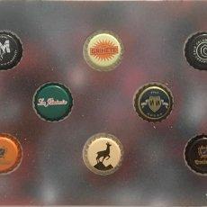 Coleccionismo de cervezas: CHAPA TAPÓN CORONA SURTIDO 10 UNDS. LOTE 11. Lote 279522598