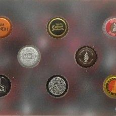 Coleccionismo de cervezas: CHAPA TAPÓN CORONA SURTIDO 10 UNDS. LOTE 13. Lote 279523263