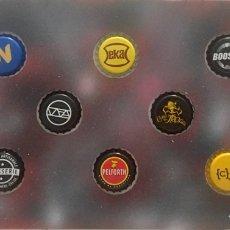 Coleccionismo de cervezas: CHAPA TAPÓN CORONA SURTIDO 10 UNDS. LOTE 14. Lote 279523583