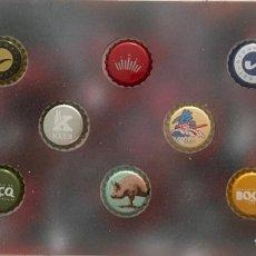 Coleccionismo de cervezas: CHAPA TAPÓN CORONA SURTIDO 10 UNDS. LOTE 15. Lote 279523928