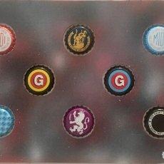 Coleccionismo de cervezas: CHAPA TAPÓN CORONA SURTIDO 10 UNDS. LOTE 16. Lote 279524238