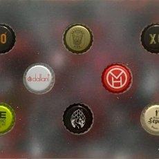 Coleccionismo de cervezas: CHAPA TAPÓN CORONA SURTIDO 10 UNDS. LOTE 17. Lote 279524473