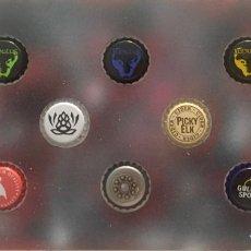 Coleccionismo de cervezas: CHAPA TAPÓN CORONA SURTIDO 10 UNDS. LOTE 20. Lote 279525208