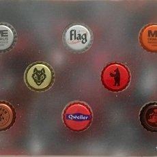 Coleccionismo de cervezas: CHAPA TAPÓN CORONA SURTIDO 10 UNDS. LOTE 22. Lote 279525873