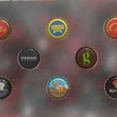Coleccionismo de cervezas: CHAPA TAPÓN CORONA SURTIDO 10 UNDS. LOTE 23. Lote 279526093