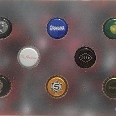 Coleccionismo de cervezas: CHAPA TAPÓN CORONA SURTIDO 10 UNDS. LOTE 25. Lote 279526613