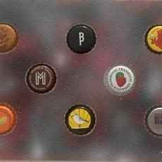Coleccionismo de cervezas: CHAPA TAPÓN CORONA SURTIDO 10 UNDS. LOTE 26. Lote 279526998