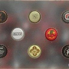 Coleccionismo de cervezas: CHAPA TAPÓN CORONA SURTIDO 10 UNDS. LOTE 27. Lote 279527218