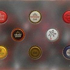 Coleccionismo de cervezas: CHAPA TAPÓN CORONA SURTIDO 10 UNDS. LOTE 28. Lote 279527418