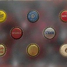 Coleccionismo de cervezas: CHAPA TAPÓN CORONA SURTIDO 10 UNDS. LOTE 29. Lote 279527703