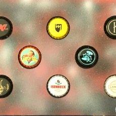 Coleccionismo de cervezas: CHAPA TAPÓN CORONA SURTIDO 10 UNDS. LOTE 06. Lote 279528988