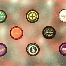 Coleccionismo de cervezas: CHAPA TAPÓN CORONA SURTIDO 10 UNDS. LOTE 19. Lote 279529148