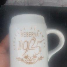 Coleccionismo de cervezas: JARRA DE CERVEZA DE CERAMICA - ALHAMBRA RESERVA 125. Lote 280475043