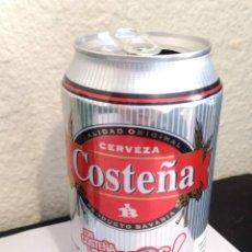 Colecionismo de cervejas: BOTE - LATA CERVEZA COSTEÑA - CON COSTEÑA VIVES MAS. Lote 285055793