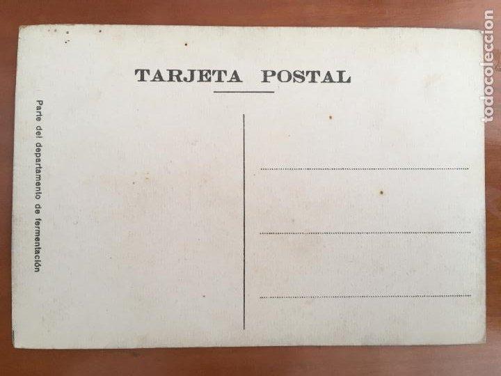 Coleccionismo de cervezas: FABRICA CERVEZA MORITZ BARCELONA POSTAL ORIGINAL ANTIGUA SIN CIRCULAR - Foto 2 - 285321868