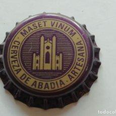 Collectionnisme de bières: CHAPA TAPÓN CORONA NUEVO DE LA CERVEZA ARTESANA ESPAÑOLA MASET VINUM. VER DESCRIPCIÓN.. Lote 285394463