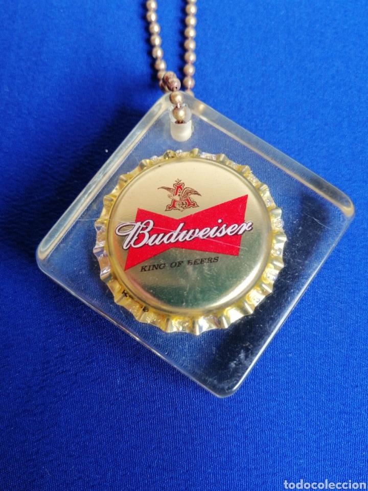 Coleccionismo de cervezas: CERVEZA BUDWEISER LLAVERO PUBLICIDAD - Foto 2 - 286892178