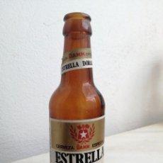 Coleccionismo de cervezas: BOTELLA DE CERVEZA ALHAMBRA GRANADA DAMM BARCELONA ESTRELLA DORADA ETIQUETA 20 CL. Lote 287220683