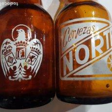 Coleccionismo de cervezas: EL NORTE-EL AGUILA BOTELLINES. Lote 287366268