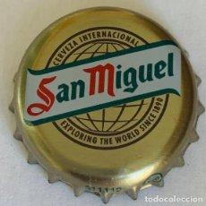 Coleccionismo de cervezas: CHAPA CERVEZA SAN MIGUEL REINO UNIDO.. Lote 288734258