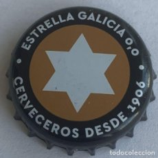 Collectionnisme de bières: CHAPA CERVEZA ESTRELLA GALICIA 0,0. Lote 289012798