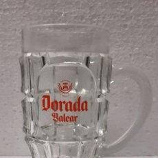 Coleccionismo de cervezas: JARRA DORADA BALEAR. Lote 289218353
