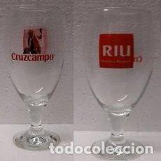 Coleccionismo de cervezas: COPA CRUZCAMPO, PERSONALIZADA RIU. Lote 289219958