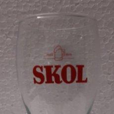 Coleccionismo de cervezas: VASO SKOL. Lote 289221013