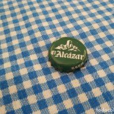Coleccionismo de cervezas: CHAPA CERVEZA EL ALCÁZAR (DAP). Lote 289522253