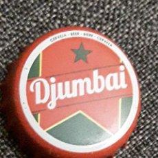 Coleccionismo de cervezas: DJUMBAI GUINEA BISSAU CHAPA CERVEZA BEER CAP TAPPI CAPSULE KRONKORKEN. Lote 289528158