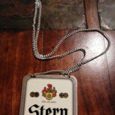 Coleccionismo de cervezas: COLLARIN PARA GRIFO DE CERVEZA STERN. Lote 290479933