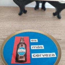Coleccionismo de cervezas: POSAVASOS CERVEZA ALHAMBRA AÑOS 70. Lote 290920128