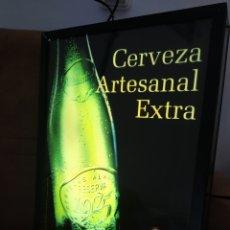 Coleccionismo de cervezas: CARTEL LUMINOSO DE CERVEZAS ALHAMBRA. Lote 291847373
