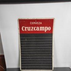 Coleccionismo de cervezas: ANTIGUA PIZARRA CRUZCAMPO. Lote 293962933