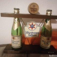 Coleccionismo de cervezas: EXPOSITOR DE CERVEZA. Lote 294476548