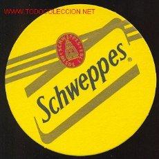 Coleccionismo de Coca-Cola y Pepsi: POSAVASOS - SCHWEPPES. Lote 977526