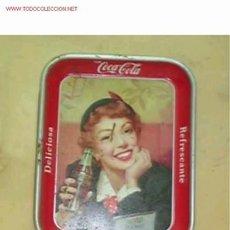 Coleccionismo de Coca-Cola y Pepsi: BANDEJA DE COCACOLA. Lote 826224